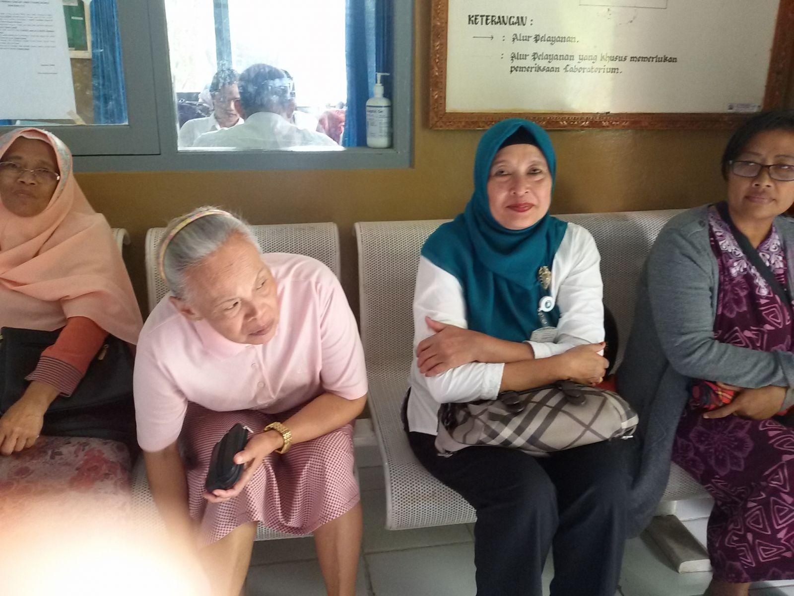 Pemeriksaan IVA bagi ibu ibu 'Aisyiyah berhasil digelar sukses tanggal 5 Juli 2017